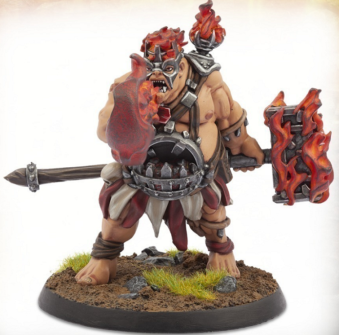 Warlord of Erehwon: Ogre Firebreather