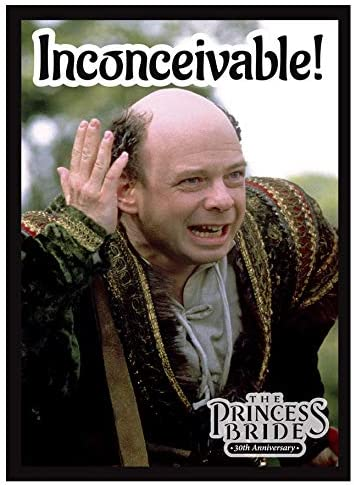 Legion Sleeves: Princess Bride - Inconceivable