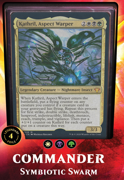 Magic the Gathering: Commander deck - Symbiotic Swarm