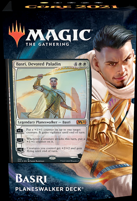 Magic the Gathering: Planeswalker Deck - Basri