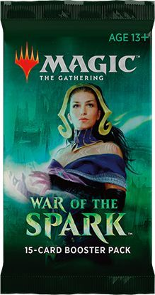 Magic the Gathering: War of the Spark booster