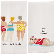 Load image into Gallery viewer, POOL LADY TOWELS