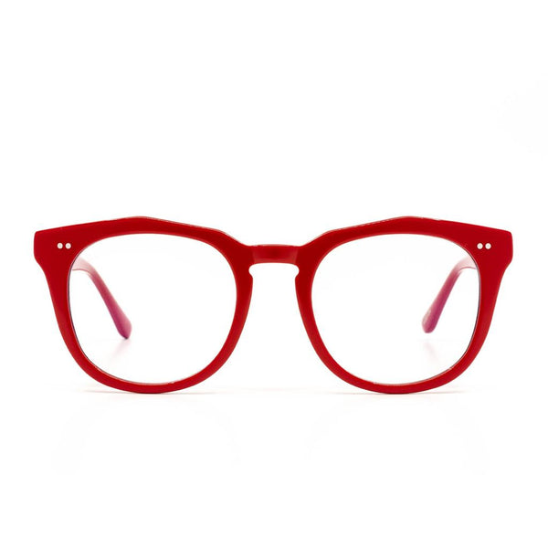 WESTON BLUE LIGHT GLASSES in RED