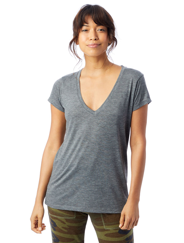 SLINKY V-NECK GREY