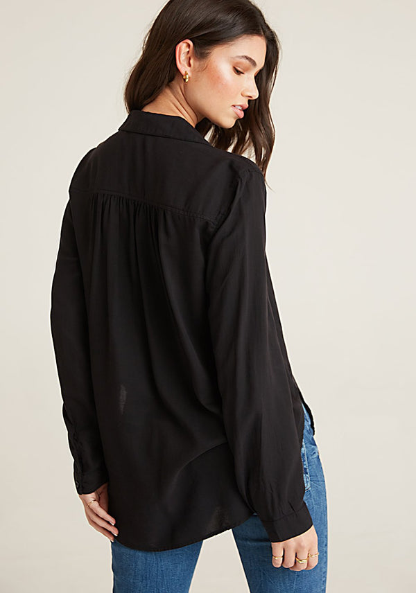 ROUND HEM BUTTON DOWN