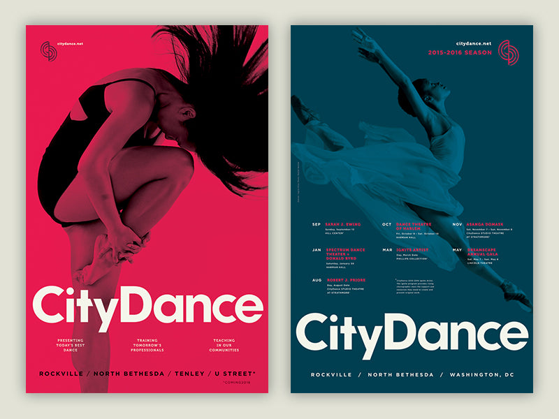 CityDance Posters
