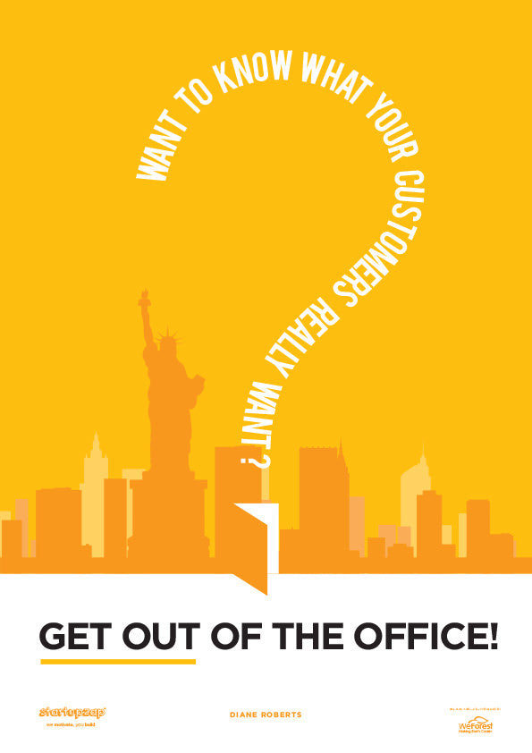 motivational posters for the office. Get Out Of The Office | Startup Poster Motivational Art - Startupzap Posters For O