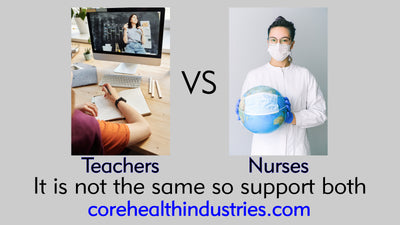 Frontline Nurses versus Frontline Educators; Teachers you have every right to complain!