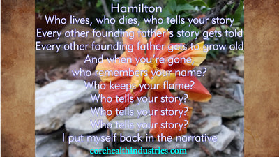 "Front line educators sing ""WHO LIVES, WHO DIES, WHO TELLS YOUR STORY""  from Hamilton"