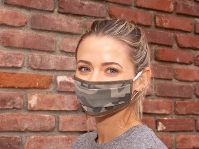 Antimicrobial Reusable Cloth Face Mask - Pictured in Green Camo - SUMMER SPECIAL - 1 mask for $8.95, 3 for $20, 5 for $28 - Core Health Industries