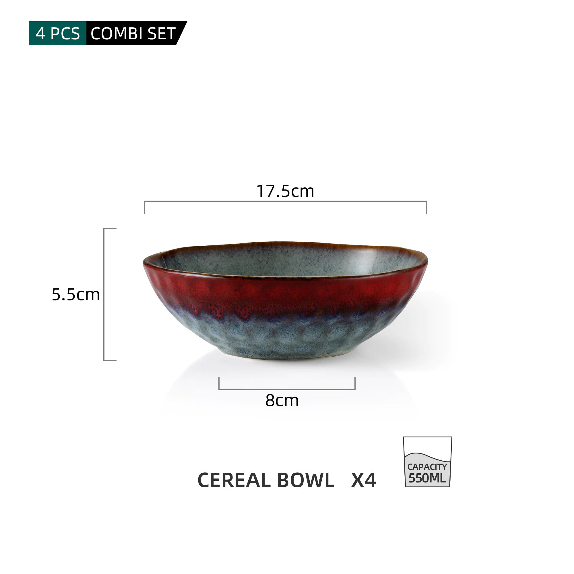 550ML Cereal Bowls