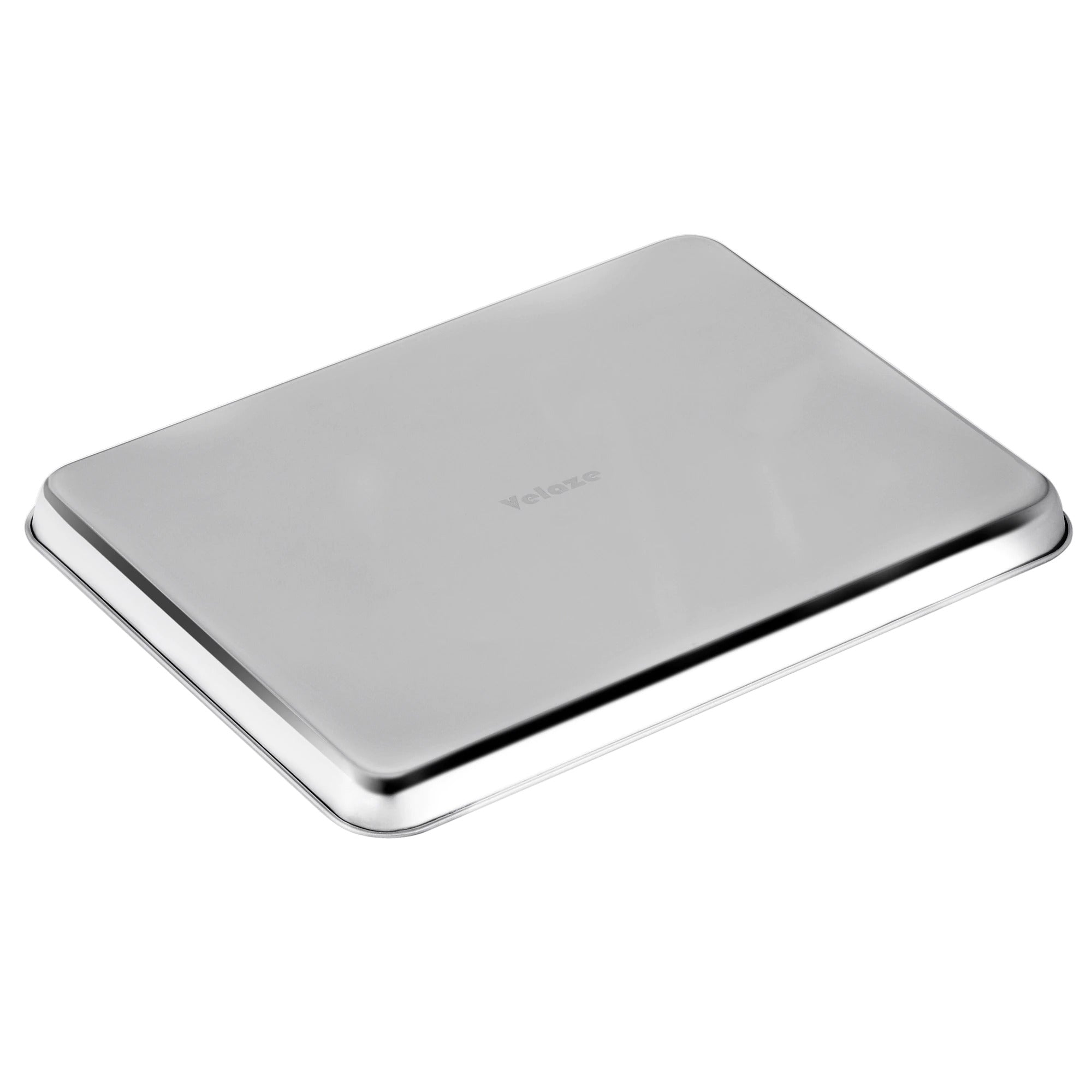 2-Pieces Stainless Steel Baking Tray Pans