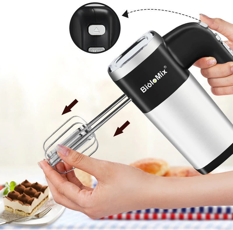 5-Speed Electric Hand Mixer 500W