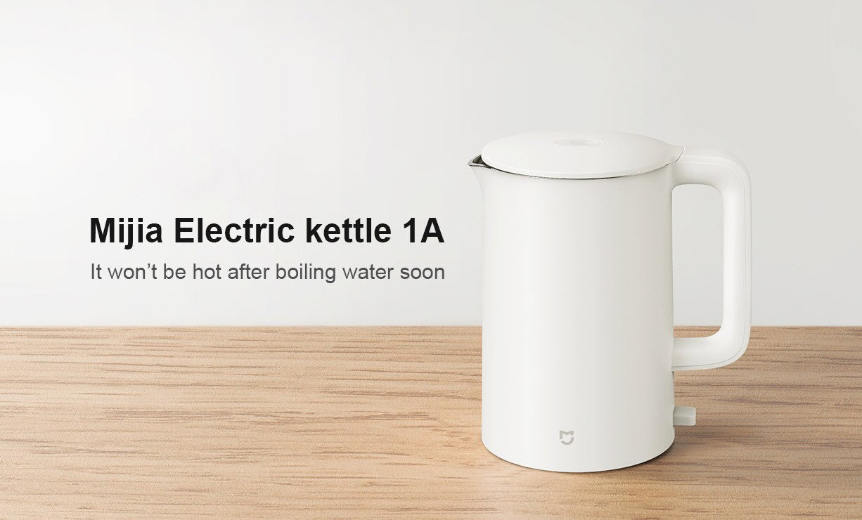 1.5L 1A Electric Kettle With Temperature Control & Anti-Overheat Function
