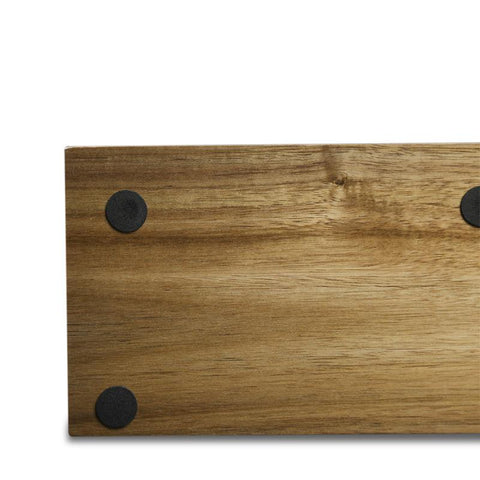 Magnetic Knife Rack Acacia Wood - My Home Essentials