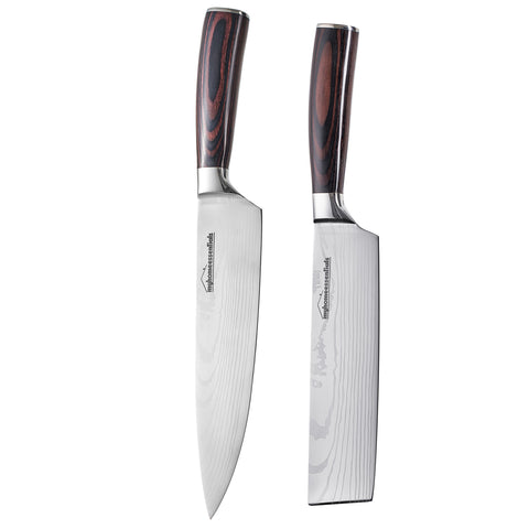 Image of Japanese Chef Knives Set Stainless Steel