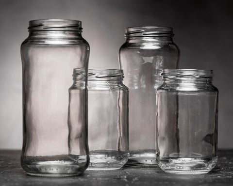 Image of Kitchen Airtight Canister Glass Storage Jars