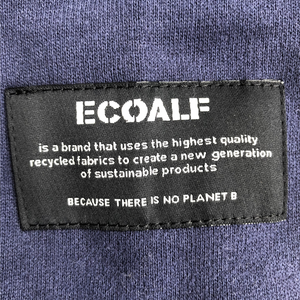 "HeyJune Concept Store - ECOALF - ""BECAUSE THERE IS NO PLANET B"" Sweater in dunkelblau"
