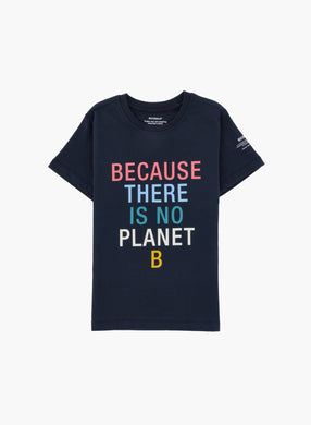 HeyJune Concept Store - 🌿 BECAUSE THERE IS NO PLANET B Shirt in dunkelblau von Ecoalf