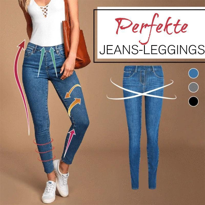 50% Off !!! Perfekte Jeans-Leggings