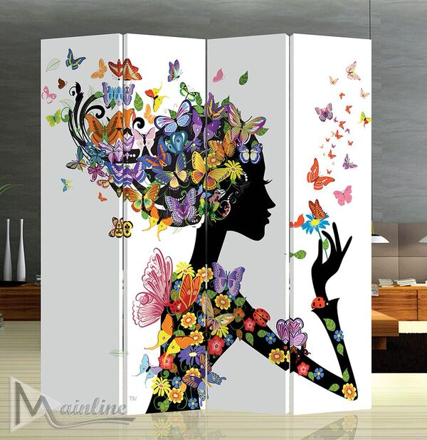 Papillon 4PC Room divider