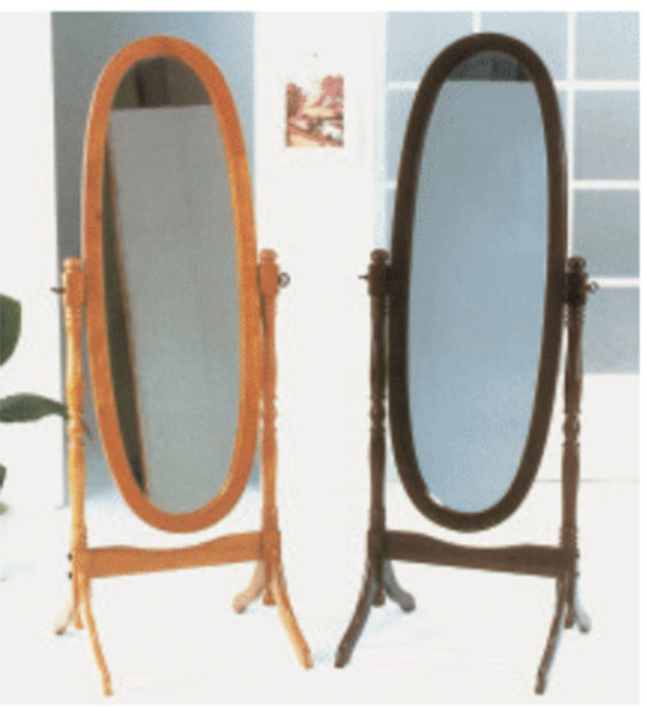 Classic Oval Standing mirror