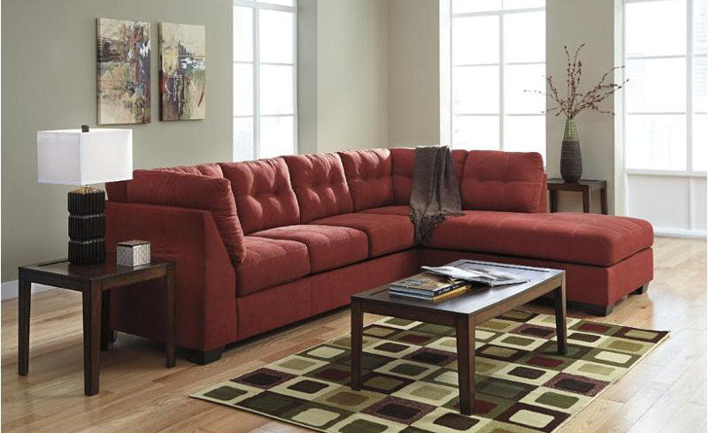Red Maeir Sectional