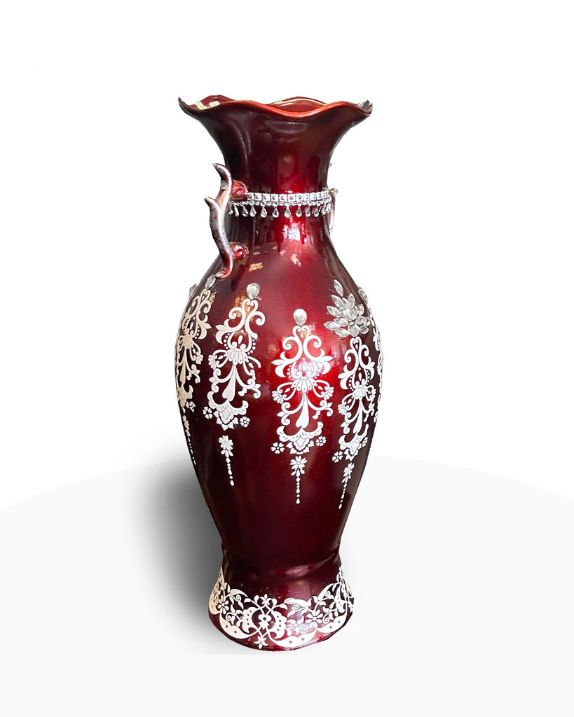 Red Decorative Vase