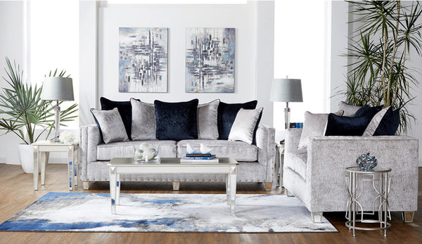 Bliss Dove Sofa & Loveseat