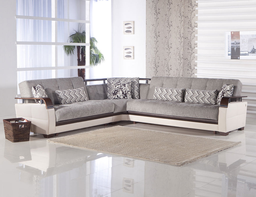 Valencia Grey Sectional