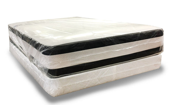 Double Pillow top Mattress and Box Spring