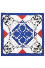 """Giles"" Large Square Silk Twill Scarf"