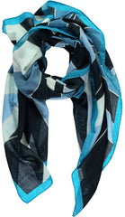 """Dex"" Large Square Wool & Cashmere Scarf"