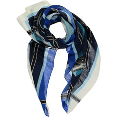 Dillon Large Square Wool & Cashmere Scarf