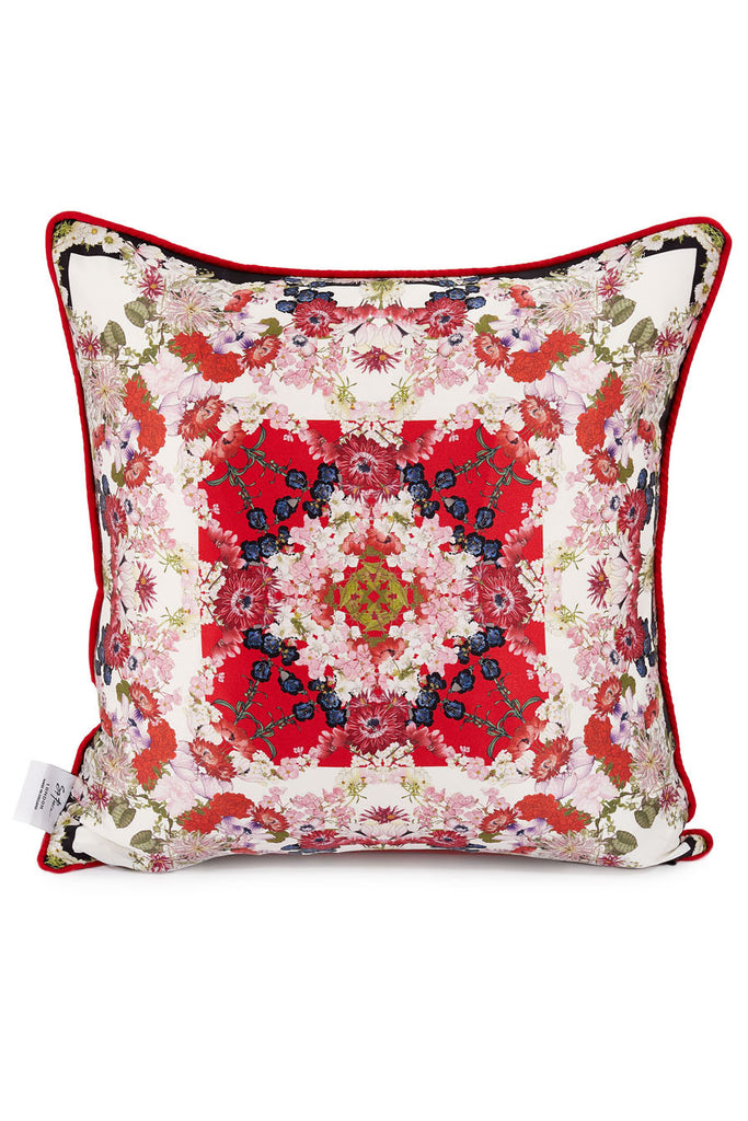 """Chloris Red"" Cushion Cover"