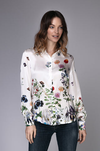 Silk Shirt 'Margaret White'