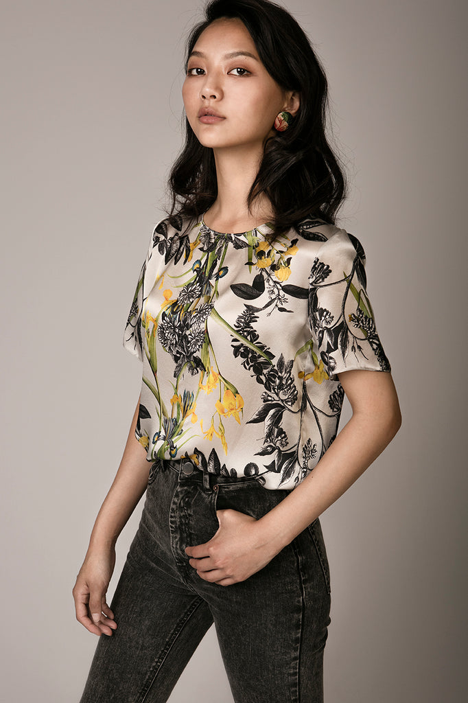 Silk Blouse 'Hennie'