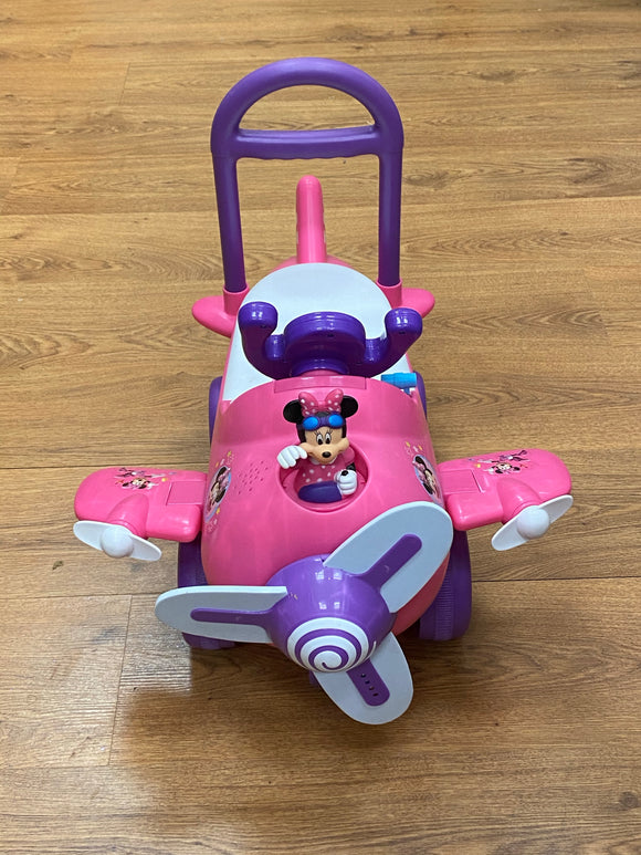 Disney Minnie Mouse Ride on Airplane