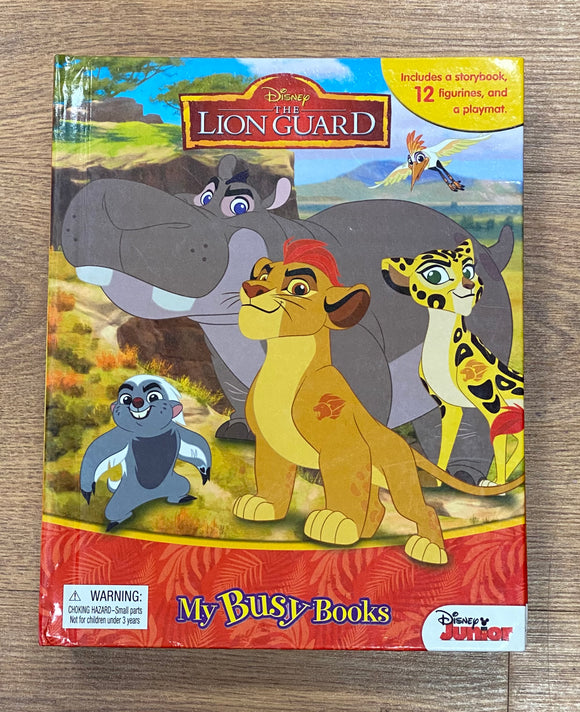 Disney Lion Guard My Busy Books Play Set