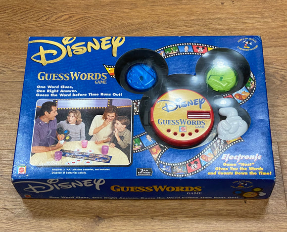 Disney Guesswords Game