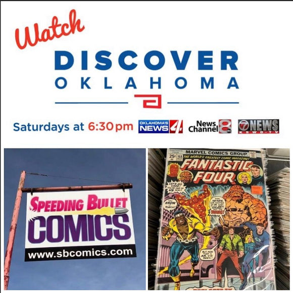 See Speeding Bullet Comics on Discover Oklahoma