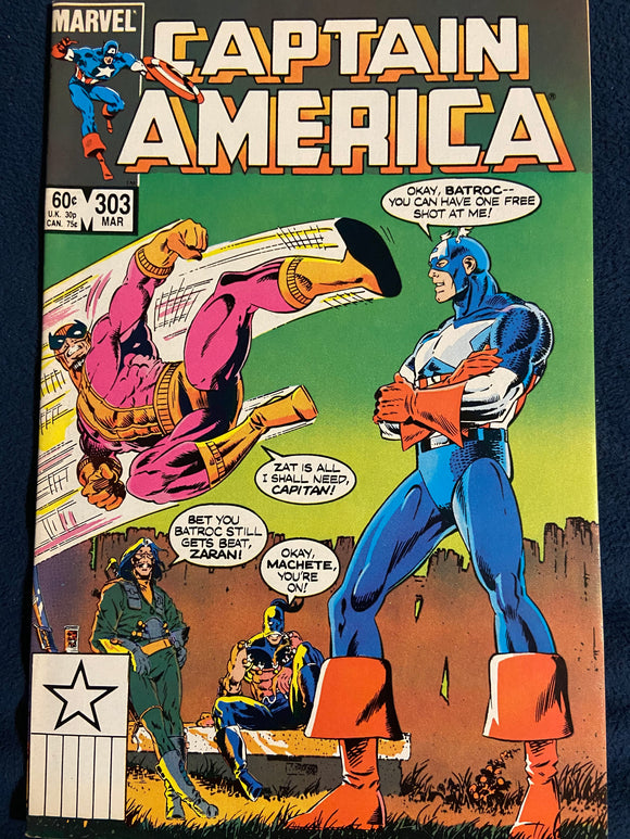 Captain America #303 VF