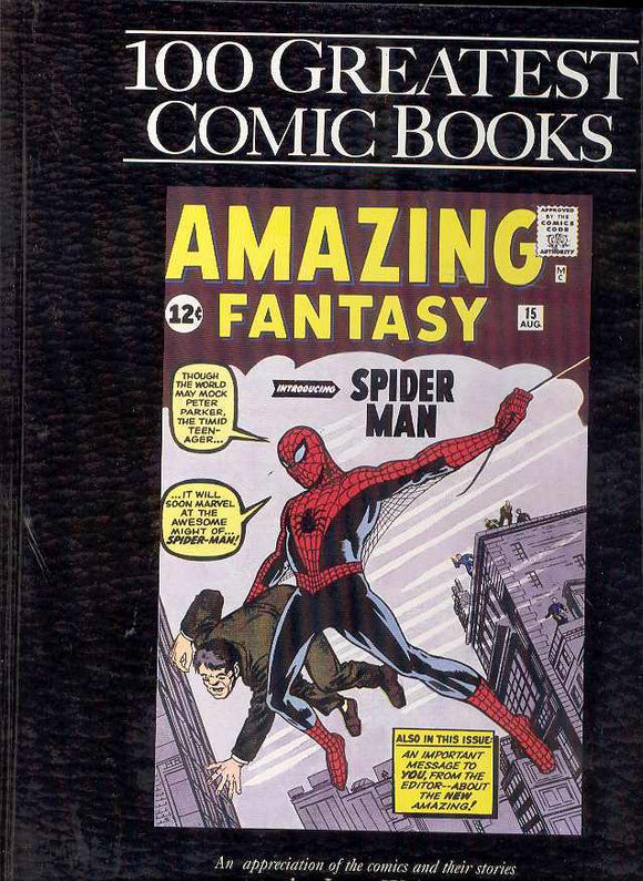100 Greatest Comic Books Hc