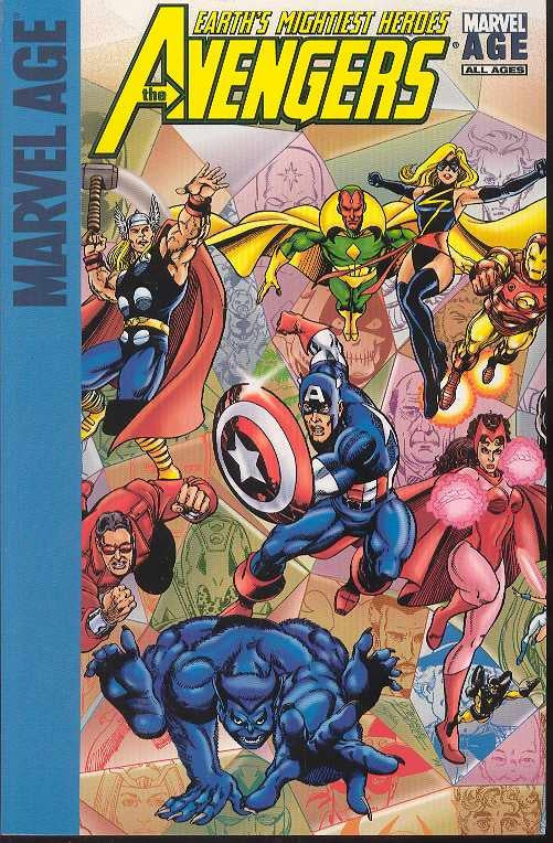 Marvel Age Avengers Earths Mightiest Heroes Tp