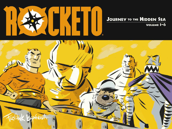 Rocketo Vol 1 Journey To The Hidden Sea Tp (New Prtg)