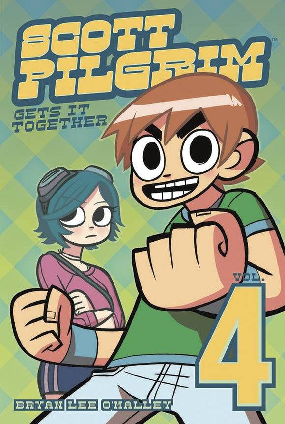 Scott Pilgrim Gn Vol 04 Gets It Together