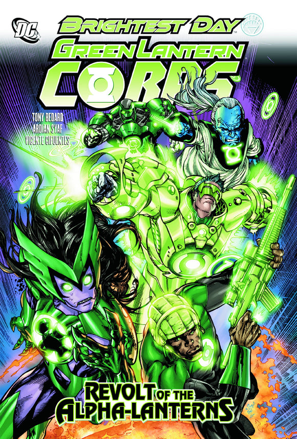 Green Lantern Corps Revolt Of Alpha Lanterns Tp