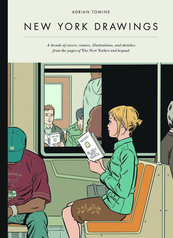 New York Drawings Adrian Tomine Hc
