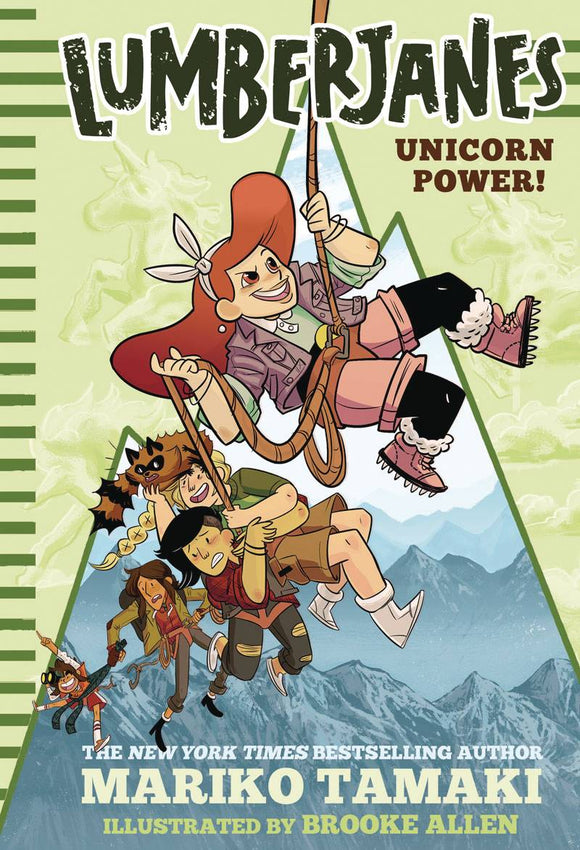 Lumberjanes Illus Hc Novel Vol 01 Unicorn Power
