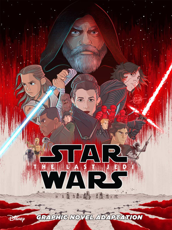Star Wars The Last Jedi Gn Adaptation Tp